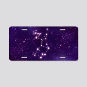 Virgo Zodiac Constellation Aluminum License Plate