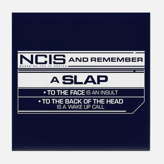 NCIS Slap Tile Coaster
