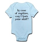 In case of rapture, can I hav Infant Bodysuit