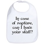 In case of rapture, can I hav Bib