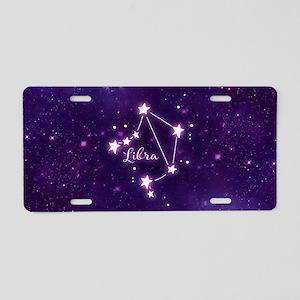 Libra Zodiac Constellation Aluminum License Plate