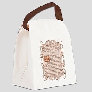 Dante's Inferno Frontispiece Canvas Lunch Bag