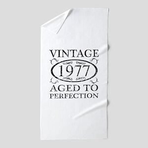 Vintage 1977 Beach Towel