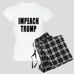 IMPEACH TRUMP BOLD Women's Light Pajamas