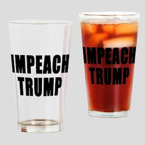 IMPEACH TRUMP BOLD Drinking Glass
