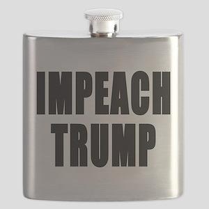 IMPEACH TRUMP BOLD Flask