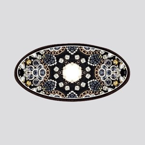 great gatsby black rhinestone Patch
