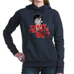 TRUMP: Throw the Bum Out Women's Hooded Sweatshirt