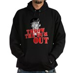 TRUMP: Throw the Bum Out Hoodie (dark)