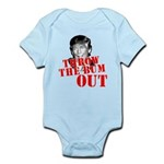 TRUMP: Throw the Bum Out Infant Bodysuit