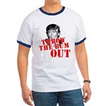 TRUMP: Throw the Bum Out Ringer T