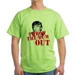 TRUMP: Throw the Bum Out Green T-Shirt