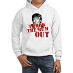 TRUMP: Throw the Bum Out Hooded Sweatshirt
