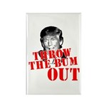 TRUMP: Throw the Bum Ou Rectangle Magnet (10 pack)