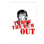 TRUMP: Throw the Bum Out Postcards (Package of 8)