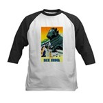 India Travel Advertising Print Baseball Jersey