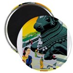 India Travel Advertising Print Magnets
