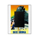 India Travel Advertising Print Picture Frame