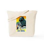 India Travel Advertising Print Tote Bag