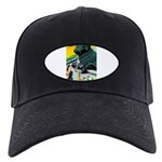 India Travel Advertising Print Baseball Hat