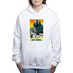 India Travel Advertising Print Sweatshirt