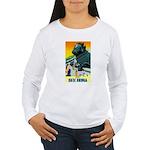 India Travel Advertising Print Long Sleeve T-Shirt