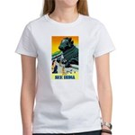 India Travel Advertising Print T-Shirt