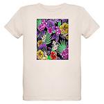 Colorful Flower Design Print T-Shirt