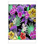 Colorful Flower Design Print Poster