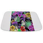 Colorful Flower Design Print Bathmat