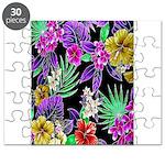 Colorful Flower Design Print Puzzle