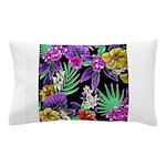 Colorful Flower Design Print Pillow Case