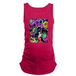 Colorful Flower Design Print Tank Top