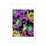 Colorful Flower Design Print Poster Print