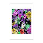 Colorful Flower Design Print Poster Print