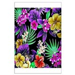 Colorful Flower Design Print Poster