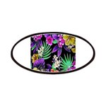 Colorful Flower Design Print Patch
