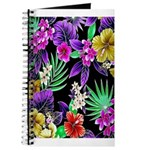 Colorful Flower Design Print Journal