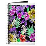 Colorful Flower Design Print Journal