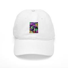 Colorful Flower Design Print Hat