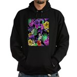 Colorful Flower Design Print Sweatshirt