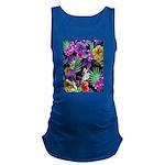 Colorful Flower Design Print Tank Top