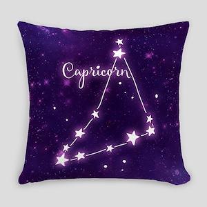 Capricorn Zodiac Constellation Everyday Pillow
