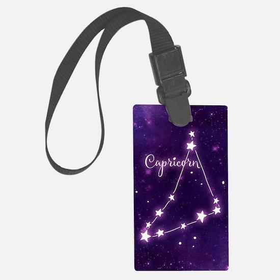 Capricorn Zodiac Constellation Luggage Tag