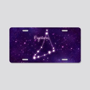 Capricorn Zodiac Constellat Aluminum License Plate