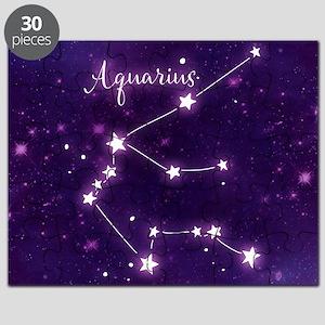 Aquarius Zodiac Constellation Puzzle