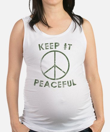 Cute Kennedy for president Maternity Tank Top
