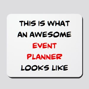 awesome event planner Mousepad