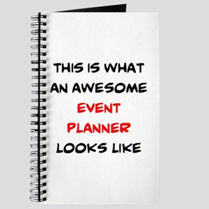 awesome event planner Journal