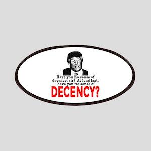 TRUMP NO Sense of Decency Patch